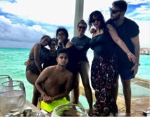 Ajay Devgn shares beach picture of his family from Maldives holiday