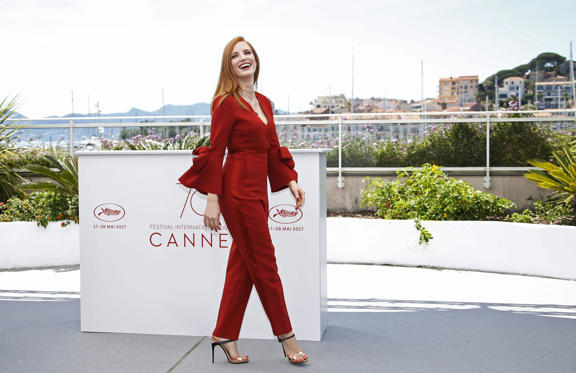 Slide 1 of 18: Jury Photocall - 70th Cannes Film Festival, France - 17 May 2017 Jessica Chastain