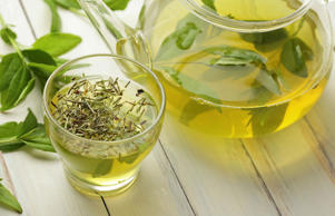 One of the healthiest beverages in the world, green tea is loaded with nutrients and antioxidants. Its polyphenols have been shown to decrease tumor growth and reduce the risk of breast, bladder, ovarian, lung and prostate cancer. And it's no coincidence that green tea is hugely popular in China and Japan where many live to 100 years old.
