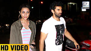 Parineeti Chopra & Aditya Roy Kapur SPOTTED At Dinner Date