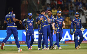 Karn Sharma scripted a brilliant victory for Mumbai Indians, taking 4 for 16 to set up a title clash with Rising Pune Supergiant