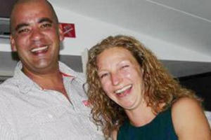 Frankie Gonsalves was snorkelling with her husband when she was attacked