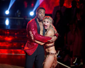 "Dancing With the Stars - ""Episodes 2411"" -Finals , Rashad Jennings, Emma Slater"