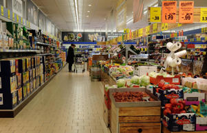 The no-frills approach to shopping, Lidl's business model was based on that of its competitor Aldi. All products were, and still are, sold in their original packaging. Customers simply take products from the packaging and staff refill them when they're empty, rather than constantly re-stocking shelves.