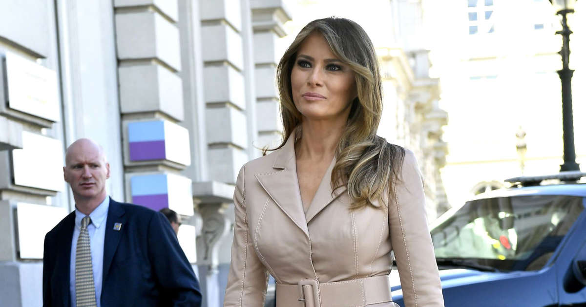 Melania Trump to Brave London as President Stays Away