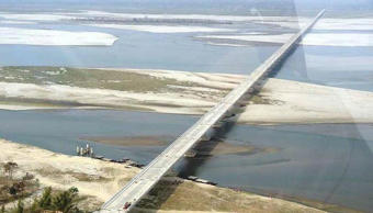 PM Modi inaugurates India's longest bridge in Assam