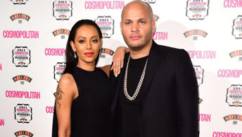 Mel B with estranged husband Stephen Belafonte