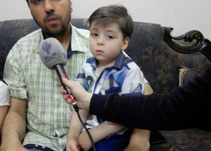 New footage emerges of Syrian boy who gave a face to the suffering in Aleppo