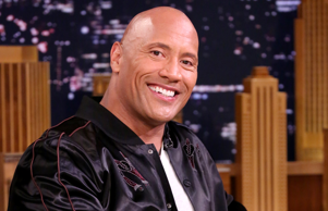 THE TONIGHT SHOW STARRING JIMMY FALLON -- Episode 0678 -- Pictured: Dwayne Johnson during an interview on May 18, 2017 -- (Photo by: Andrew Lipovsky/NBC/NBCU Photo Bank via Getty Images)
