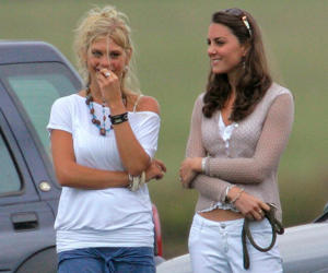 But the stunning solicitor, pictured with Duchess Catherine in 2006, had no interest in becoming a royal.