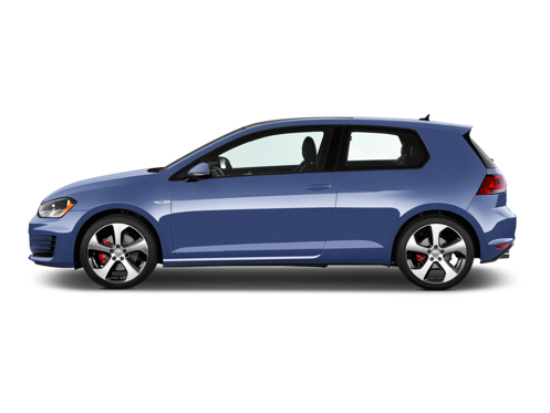 Slide 1 of 12: 2016 Volkswagen Golf GTI