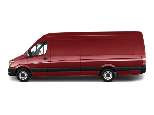 Slide 2 of 50: 2015 Mercedes-Benz Sprinter Cargo Van