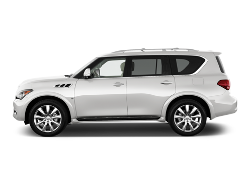 Slide 1 of 12: 2014 INFINITI QX80