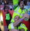 Paramedics dance along to Take That concert
