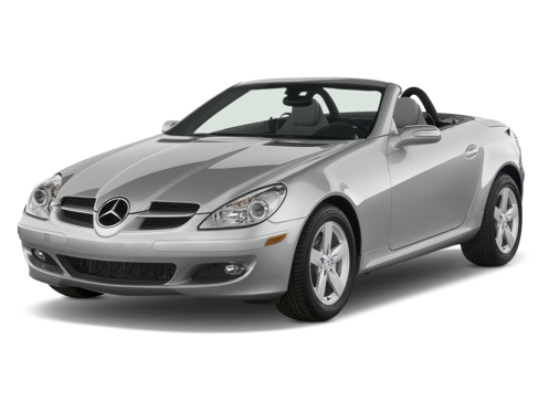 Slide 1 of 14: 2008 Mercedes-Benz SLK-Class