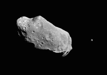 Asteroid 243 Ida and Its Moon (Photo by © CORBIS/Corbis via Getty Images)