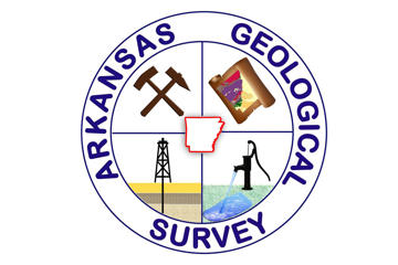 Arkansas Geological Survey logo.