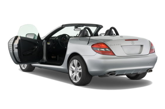 Slide 1 of 25: 2010 Mercedes-Benz SLK-Class