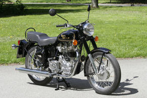 Royal Enfield Bullet 500 motorcycle
