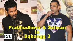 Prabhudheva & Salman to come together for 'Dabangg 3'?