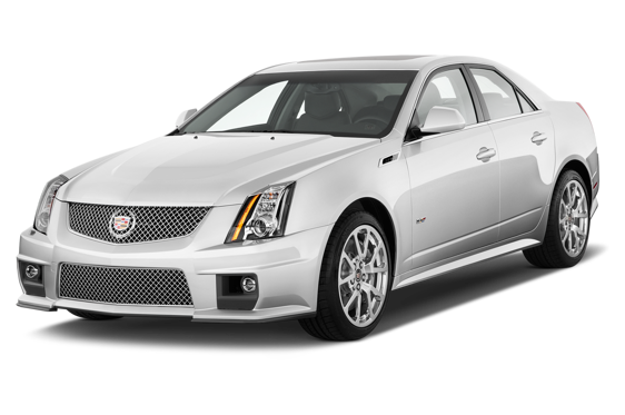 Slide 1 of 14: 2013 Cadillac CTS-V Sport Sedan