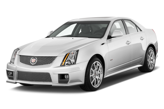 Slide 1 of 14: 2014 Cadillac CTS-V Sport Sedan