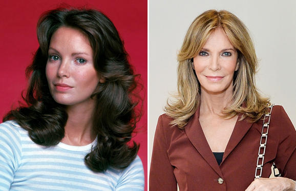 Slide 1 of 45: Jaclyn Smith (1970, 2016)
