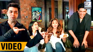 Sridevi & Shilpa Shetty Party At Karan Johar's House | INSIDE VIDEO