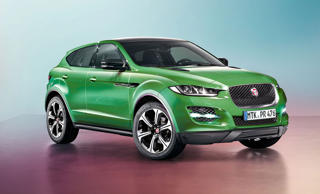 Jaguar E-Pace: first look