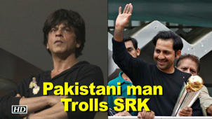 Pakistani man Trolls SRK, creates RAGE among fans