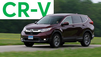 2017 Honda CR-V Road Test