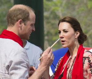 Prince William and Catherine Duchess of Cambridge visit to India - 13 Apr 2016
