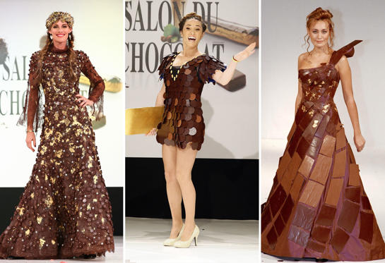 Lysbilde 1 av 19: Chocolate dresses