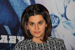 Taapsee's rude reply to media