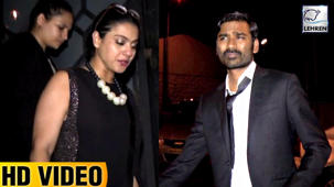 Kajol And Dhanush Spotted PARTYING In Bandra Pub