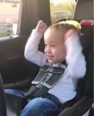 Tot's ecstatic reaction to a passing train