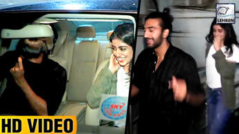 Navya Naveli SPOTTED With Boyfriend On A Movie Date