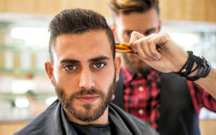 39pc of men indicated that they go to the barbers for reasons other than their hair