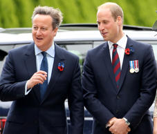 The Duke of Cambridge and David Cameron have become embroiled in a row over corr...