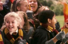Julianne Hough was an extra in the first Harry Potter film