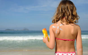 Too many children are sun tanned because parents are increasingly abandoning sun cream, NHS England warns