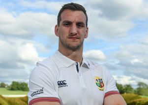 Sam Warburton of British and Irish Lions
