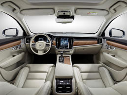 "<p><strong>Average U.S. News Interior Score: 8.44/10 </strong>(Details Below)</p><p><a href=""https://cars.usnews.com/cars-trucks/volvo"">Volvo</a> has staked its reputation on elegant interiors trimmed in high-end materials. After completing a makeover of its 90 series, including its famed station wagon, the Swedish automaker has solidified its reputation for luxury.</p><p>The <a href=""https://cars.usnews.com/cars-trucks/volvo/xc90/2017"">Volvo XC90</a> SUV, which was named a finalist for our <a href=""https://cars.usnews.com/cars-trucks/best-cars-for-the-money"">2017 Best Luxury 3-Row SUV for the Money</a> and <a href=""https://cars.usnews.com/cars-trucks/best-cars-for-families"">2017 Best Luxury 3-Row SUV for Families awards</a>, features spacious seating, ample cargo room, and standard dashboard technology that includes a tablet-like 9-inch touch screen with navigation.</p>"