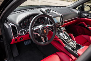 "<p><strong>Average U.S. News Interior Score: 8.22/10 </strong>(Details Below)</p><p><a href=""https://cars.usnews.com/cars-trucks/porsche"">Porsche</a> stands out among the high-end luxury automakers for its upscale interiors and comfortable seating.</p><p>Earning top spots in our rankings of <a href=""https://cars.usnews.com/cars-trucks/rankings/luxury-suvs-with-2-rows"">luxury SUVs with 2 Rows</a> and <a href=""https://cars.usnews.com/cars-trucks/rankings/luxury-crossover-suvs"">luxury crossover SUVs</a>, the <a href=""https://cars.usnews.com/cars-trucks/porsche/cayenne-hybrid/2017"">Porsche Cayenne Hybrid</a> and <a href=""https://cars.usnews.com/cars-trucks/porsche/macan/2017"">Porsche Macan</a> come with high-quality materials, including wood trim and leather upholstery and an infotainment system with a 7-inch touch screen.</p>"