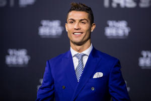 ZURICH, SWITZERLAND - JANUARY 09: The Best FIFA Men's Player Award nominee Cristiano Ronaldo of Portugal and Real Madrid arrives for The Best FIFA Football Awards 2016 on January 9, 2017 in Zurich, Switzerland. (Photo by Philipp Schmidli/Getty Images)