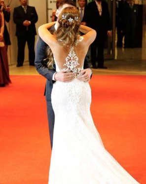 Diapositiva 14 de 63: Todo sobre la boda de Lionel Messi y Antonela Roccuzzo