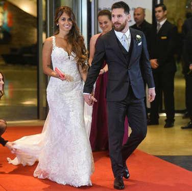 Diapositiva 2 de 63: Todo sobre la boda de Lionel Messi y Antonela Roccuzzo