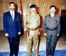 NYT: 2003	Saddam Hussein's sons Odai and Qusai were killed when U.S. forces stormed a villa in Mosul, Iraq.