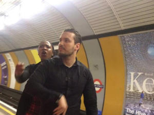 Man denies ripping off woman's hijab on tube platform