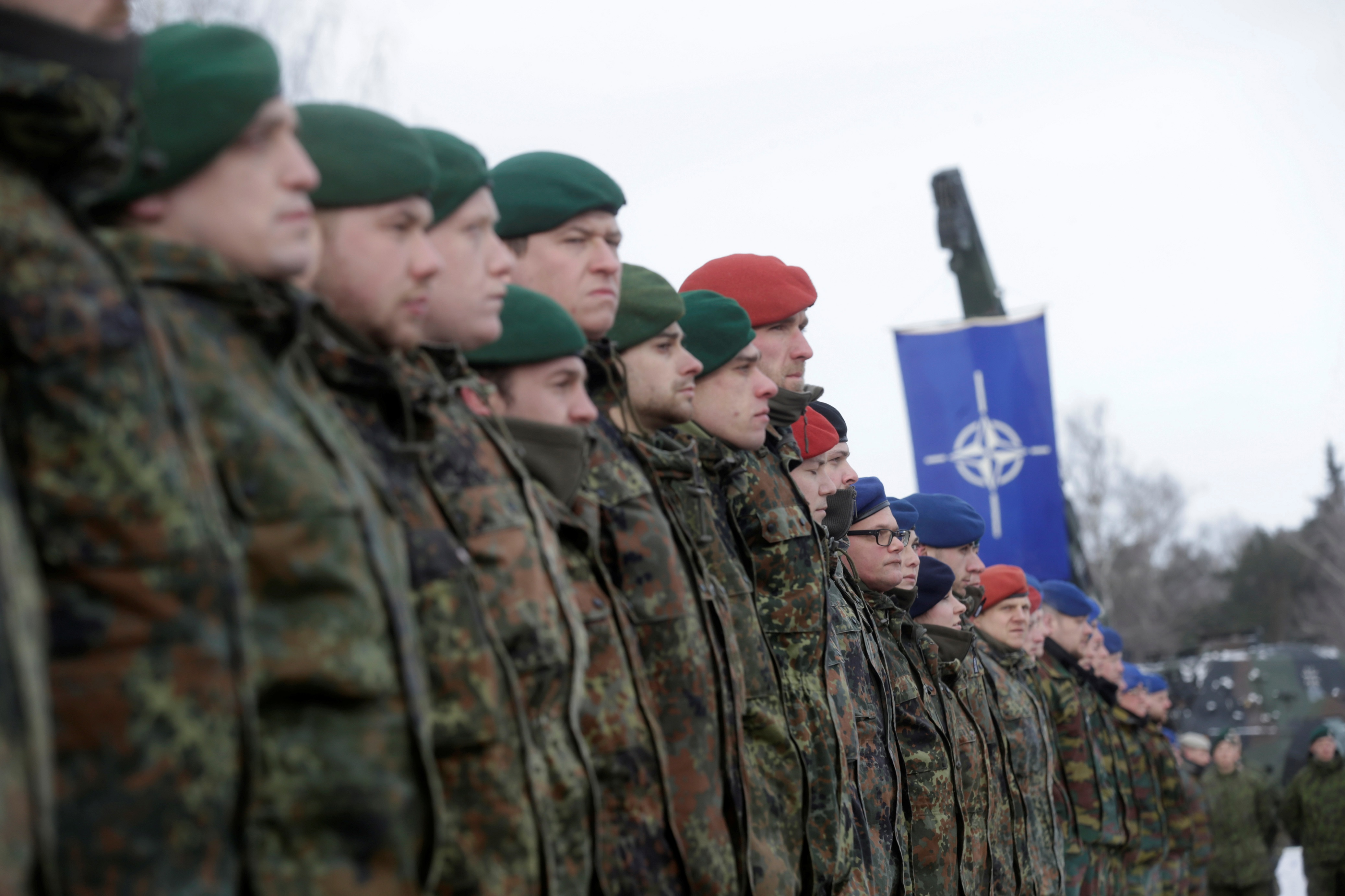 Facing Russian threat, NATO boosts operations for the first time since the Cold War